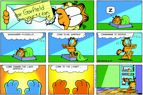 Garfield Minus Arbuckle, June 15, 1997