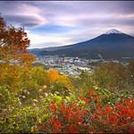 富士山  Fuji-yama