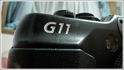 CANON PowerShot G11もやってきた