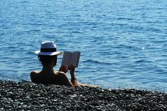 Elia (Schorli_Carla) Tags: blue light sea wild summer people man male nature water lumix mare corse corsica young panasonic antisocial emozioni nonza flickrchallengegroup flickrchallengewinner