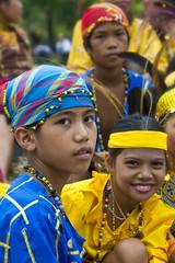 Davao, Mindanao - Kadayawan BLUE! (Mio Cade) Tags: show costumes boy cute boys kids children video goodness asia philippines slide celebration davao mindanao kadayawan