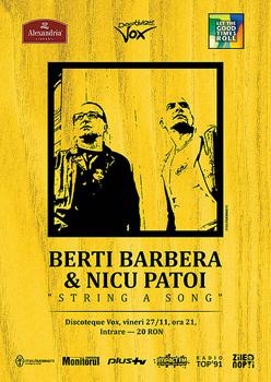 Berti Barbera & Nicu Patoi