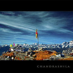 Himalayan Splendor - Chandrashila in HDR!! (CoSurvivor) Tags: sunset india mountain landscape evening indian uttaranchal peaks himalaya hinduism hdr himalayas garhwal kedarnath himalay uttarakhand tungnath chopta chandrashila colorphotoaward cosurvivor theunforgettablepictures nandadevibiospherereserve choptavalley kedarnathwildlifesanctuary