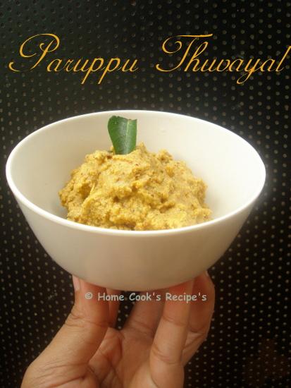 Paruppu Thuvayal