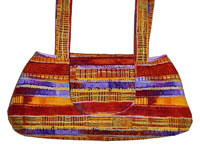 African Sun Small Satchel Purse