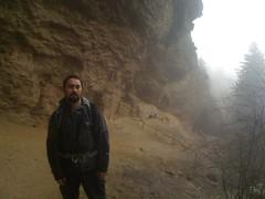 Kirk at Alum Cave