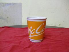 McCafe mug orange (cyberfux) Tags: tasse coffee kaffee mug