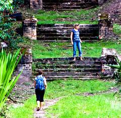 On the steps of Shiwa Ngandu
