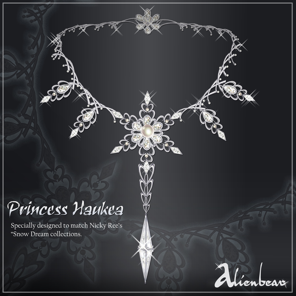 Princess Haukea necklace white