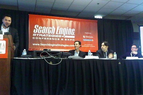 panelists of Search Becomes the Display OS at SES Chicago 2009