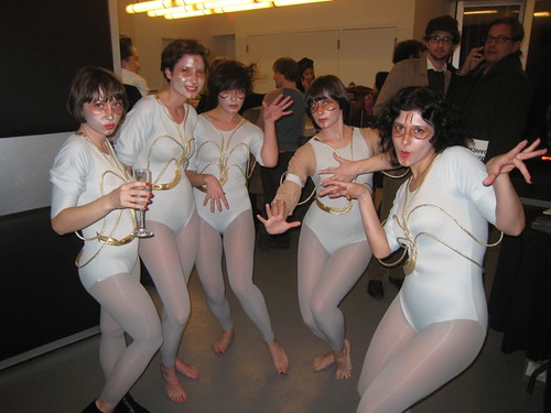 Kate Bush Dance Troupe, minus Cassie