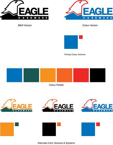 Eagle Hardware Logos