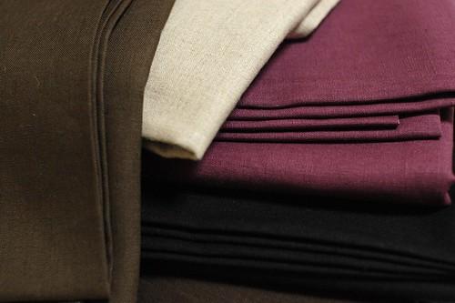 Japanese linen fabrics