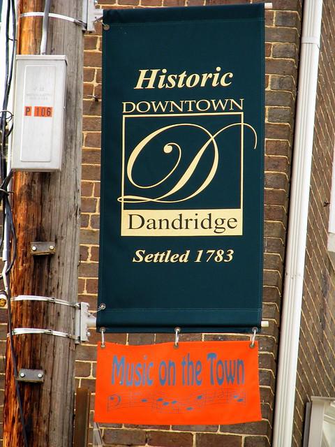 Historic Dandridge banner