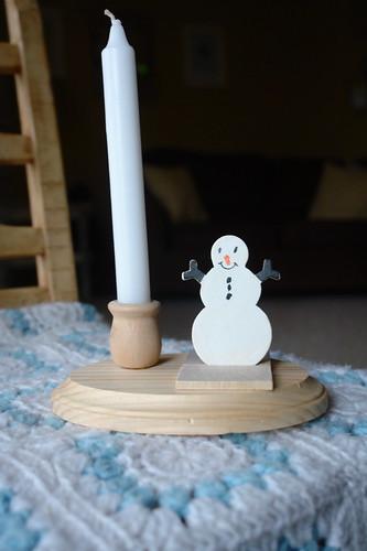 Luke's Candle Holders