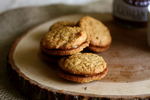 Dulce de Leche Sandwich Cookies | Joy the Baker