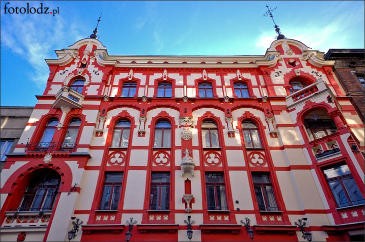 Czerwona Kamienica na Struga w Łodzi