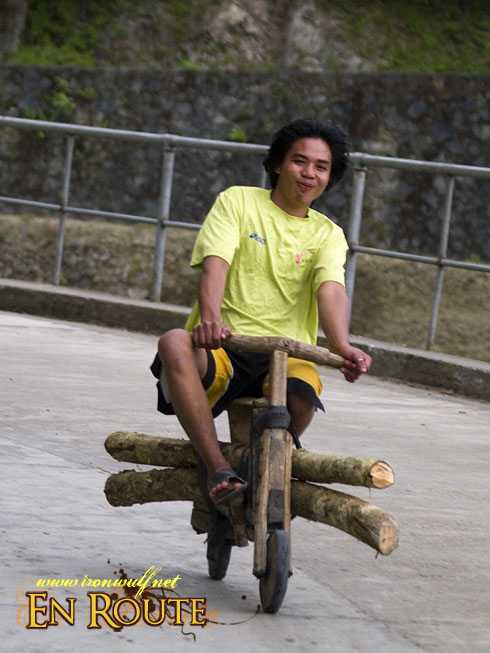Banaue Wooden Scooters