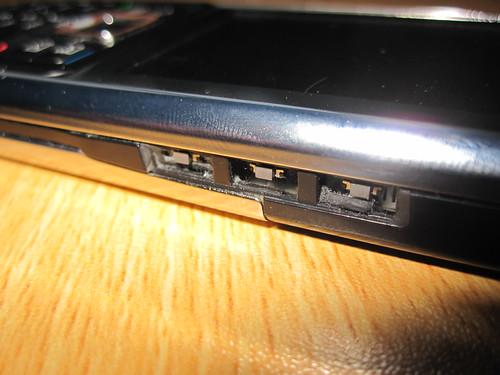 Nokia e51 wear and tear