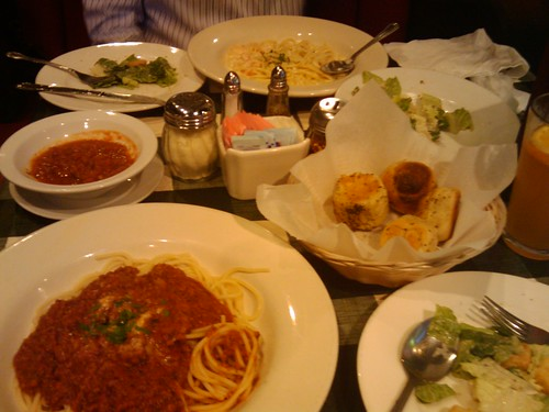 Dinner at Johnnie's New York