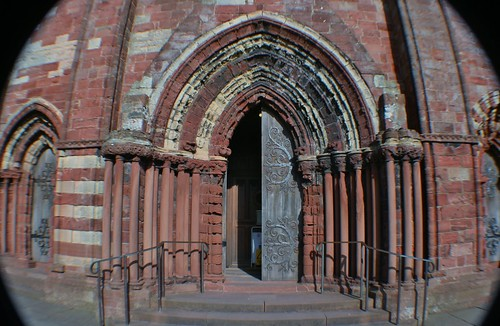 Entrance to St Magnus Cathedral, Kirkwall