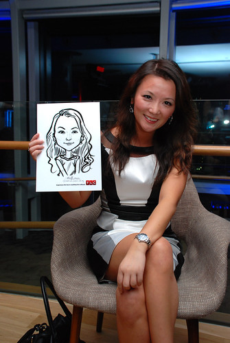 Caricature live sketching for TLC - 27