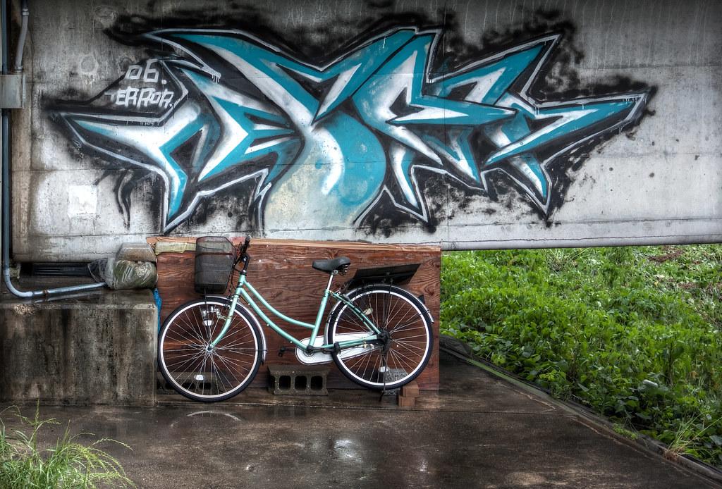 Bike and graffiti
