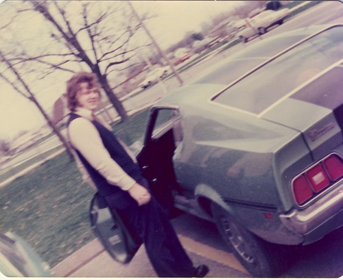 Papa & his Mustang, 1975 by bohemea