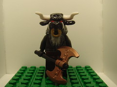 Minotaur (F) (tin7_creations) Tags: greek lego minifig mythology minotaur