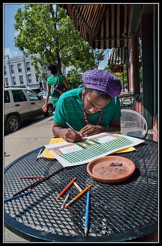 Street artist IV