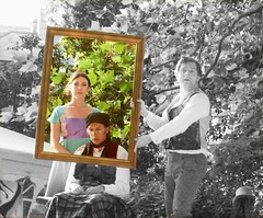 Emma framed (DncnH) Tags: nottingham summer portrait theatre literary emma frame drama janeausten adaptation openair nottinghamcastle blueribbonwinner heartbreakproductions