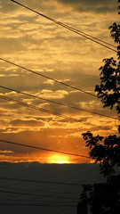 (Rupert Pinkerton Bumbleford The 7th) Tags: city sunset ohio sun evening powerlines suberbs