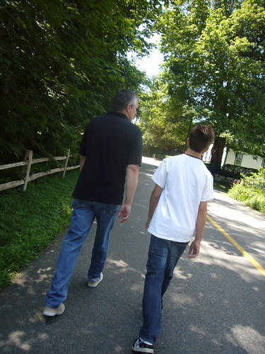 boys walk
