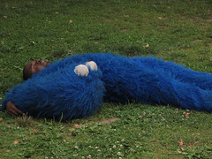 Cookie Monster Passed Out