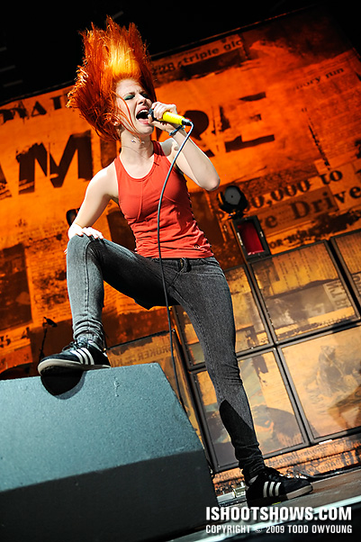 Concert Photos: Paramore @ VWA -- 2009.07.08