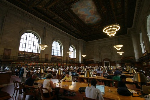 New York Public Library. Very impressive.