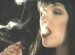 (SmokingSlave9) Tags: sexy fetish smoking gloves cigars cigarettes mistress 120s womans shemales