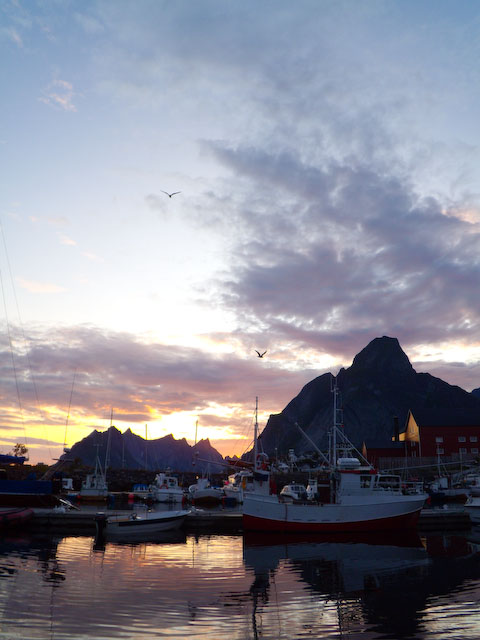 Lofoten at midnight