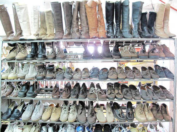 Pasig thrift shoes