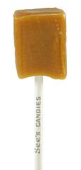 Butterscotch See's Lollipop