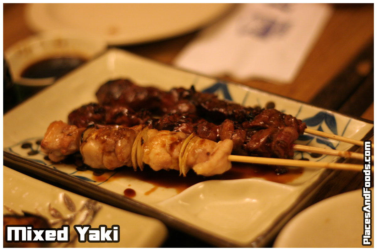 mixed yaki