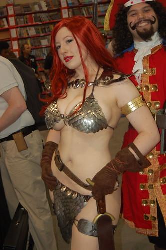 Comic Con 2009: Red Sonya