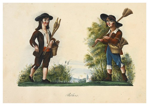 011- Vendedores ambulantes-Picturesque review of the costume of the portuguese 1836