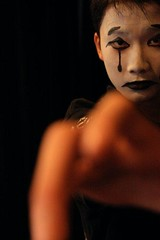 Reaching Out Wordlessly (Rachel Wan) Tags: reach mime wordless speachless