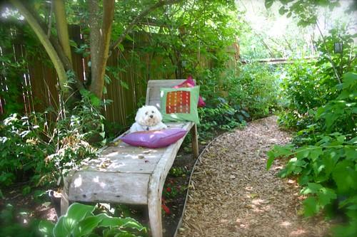 R&R in the garden
