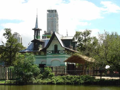 La maison des rhinocéros du zoo de Buenos Aires.