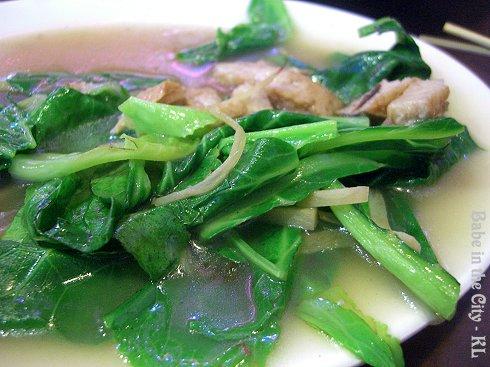 Stir Fried Kai Lan (RM8)