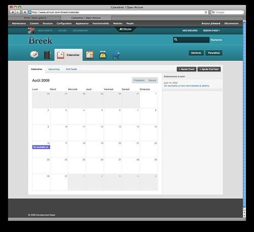 openatrium-calendrier