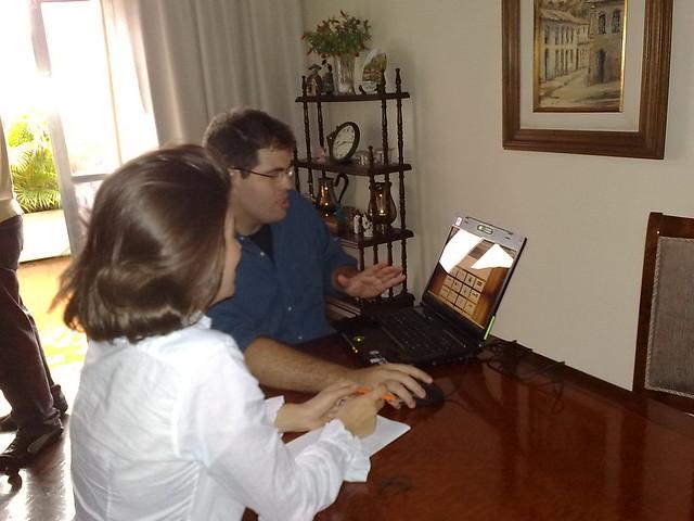 Renta Vasconcellos na entrevista para o Bom Dia Brasil