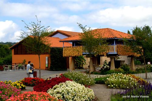 En el jardín botánico de Gijón